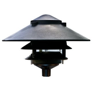 Stardust 1-Light Outdoor Black Path Light