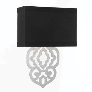 Candice Olson Silver Foil 8426-2W Grill Wall Sconce