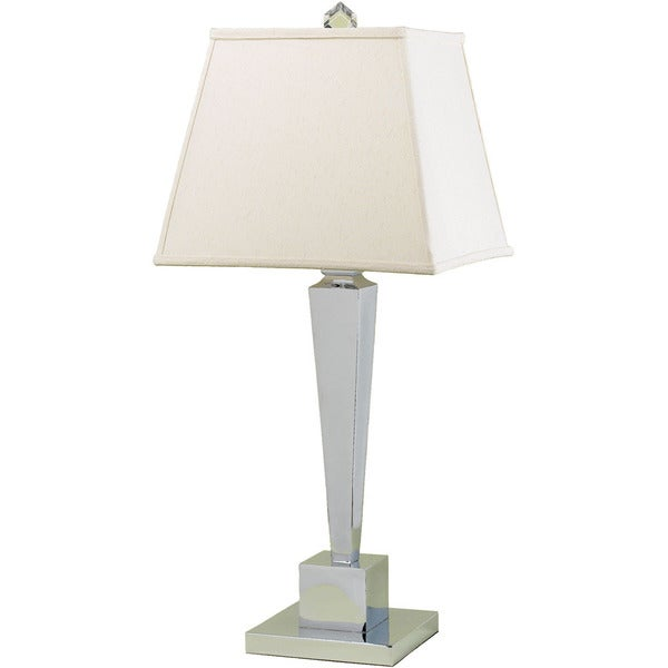 AF Lighting 6774-TL 6774 Table Lamp- Cream Shade
