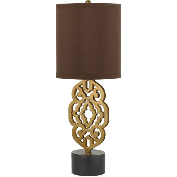AF Lighting 8104-TL 8104 Table Lamp in Satin Brass