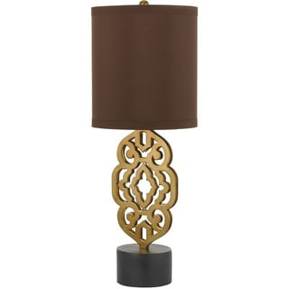 Grill Table Lamp- Satin Brass