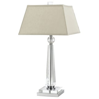 Cluny Crystal Table Lamp- Cream Shade