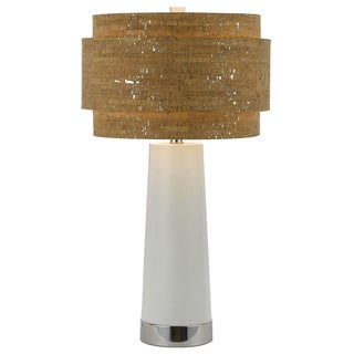 Aviva Table Lamp- Pearl