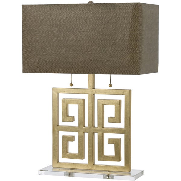 AF Lighting Gold 8463-TL Santorini Table Lamp