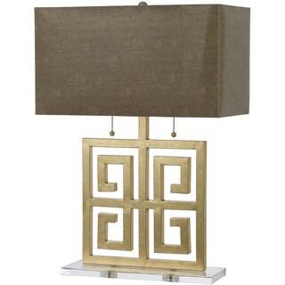 AF Lighting Gold 8463-TL Santorini Table Lamp