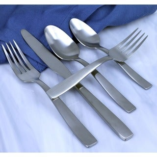 Everdine brushed stainless steel Flatware Set (20 piece set)