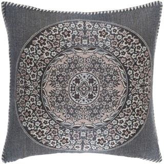 Decorative Cape Coral 20-inch Poly or Down Filled Throw Pillow