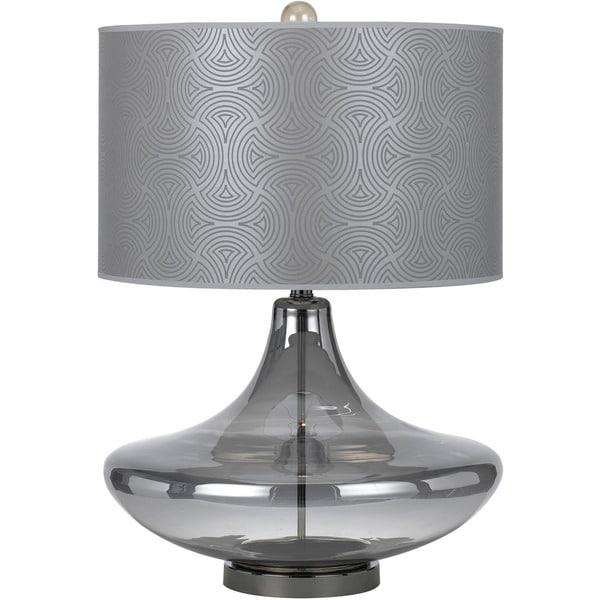 AF Lighting 8900-TL 8900 Glass Table Lamp - Smoke