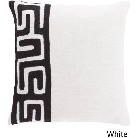 Decorative Alai 22-inch Poly or Feather Down Filled Throw Pillow