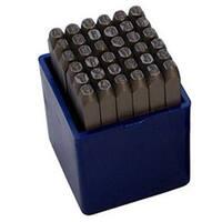 """36pc Number/Letter Punch Set 1/8"""" Hardened Steel 3.0mm 1/8"""" A-Z+0-9(bt136)"""