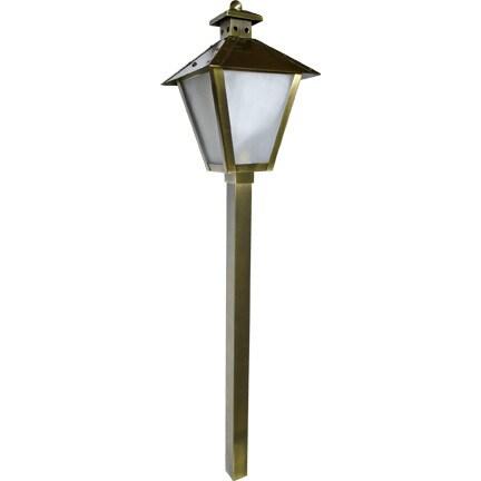 Kasu 1-Light Outdoor Bronze Step Light