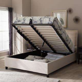 homey inspiration fabric platform bed. Oliver James Destil Fabric Storage Platform Bed For Less Overstock com  homey inspiration The Best 100 Homey Inspiration Image