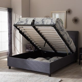 Oliver & James Destil Fabric Storage Platform Bed