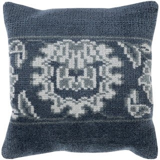 Decorative Alessandra 20-inch Poly or Feather Down Filled Throw Pillow