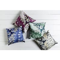 Decorative Lee 22-inch Poly or Feather Down Filled Throw Pillow