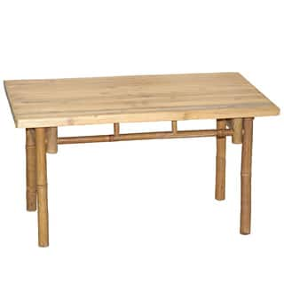 Handmade Bamboo54 Handcrafted Bamboo End Table Vietnam