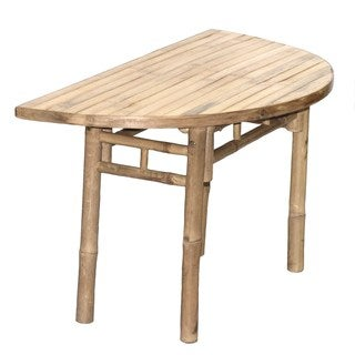 Bamboo54 Half Moon Table (Vietnam)