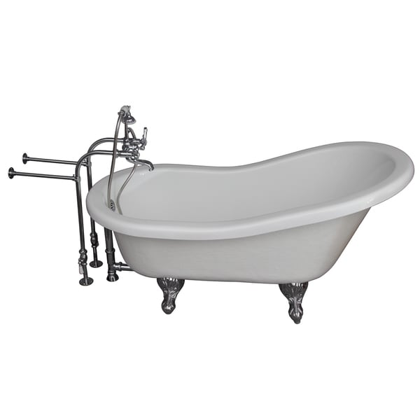 Barclay Universal 67-inch Tub Kit with Acrylic Slipper/ Tub Filler ...