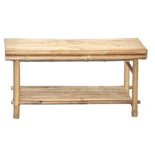 Bamboo54 KD Bamboo Low Table Shoe Rack (Vietnam)