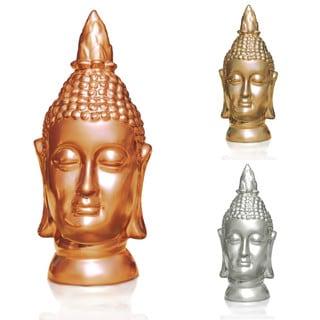 Bleek2Sheek Large Peace/ Love/ Harmony/ Relax Buddha Head Statue