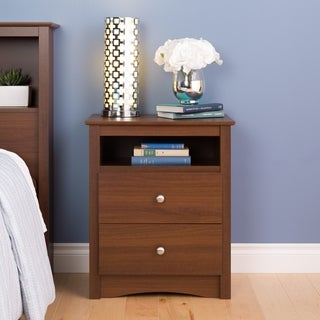Steveston Warm Cherry 2-drawer Nightstand