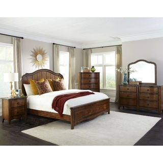 Luciano Traditional Panel Bed