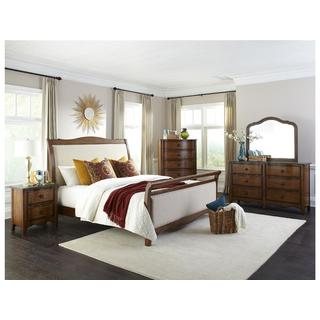 Luciano Traditional Upholstered Bed