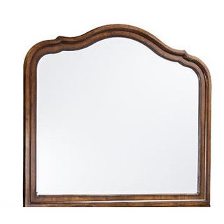 Luciano Traditional Landscape Scalloped Mirror