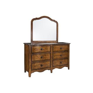 Luciano Traditional Bluestone Top 6-Drawer Dresser