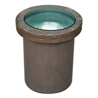 Davida 1-Light Outdoor Bronze Well Light