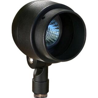Ohare 1-Light Outdoor Black Well Light
