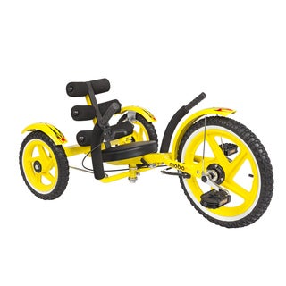 Mobo Mobito Sport The Ultimate Three Wheeled Youth Cruiser in Yellow