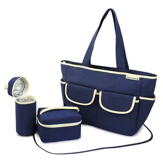 Jacki Design Fashion 4-piece Diaper Bag Set