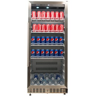 EdgeStar Stainless Steel 11.2 Cu. Ft. Commercial Beverage Cooler Sold by Living Direct