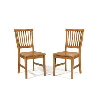 Arts and Crafts Dining Chair (Set of 2) by Home Styles