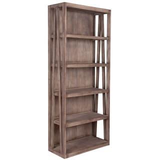 The Pepti Brown Rustic Bookcase