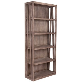 East At Main's The Pepti Brown Rustic Bookcase