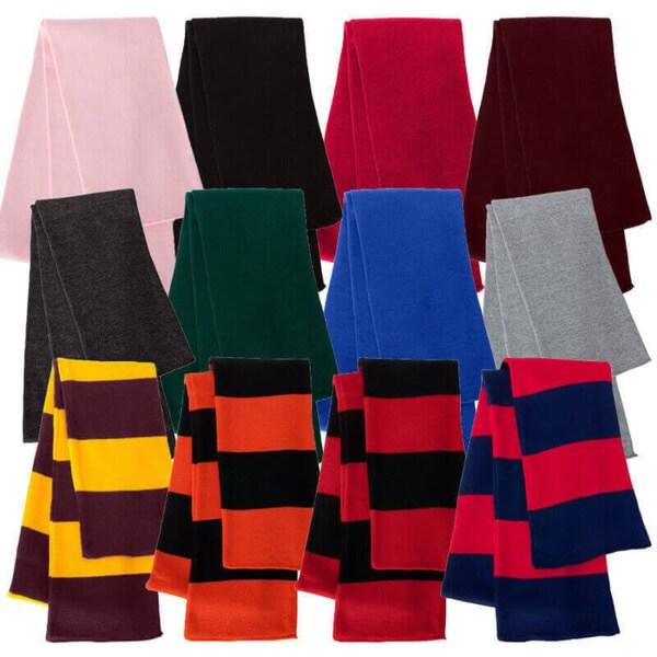 Premium Rugby Knit Scarf ( 1 Piece)