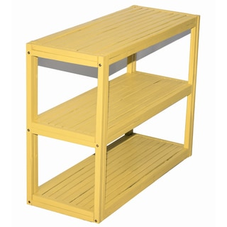 Bamboo 3-tier Rectangle Shelf/ Console Table (Vietnam)
