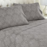 Amraupur Overseas Paisley Printed 4-piece Sheet Set