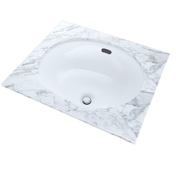 Toto Oval 15 X 12 Narrow Undermount Bathroom Sink