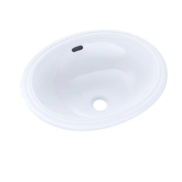 Toto Oval 15 X 12 Narrow Undermount Bathroom Sink Lt577 01 Cotton White