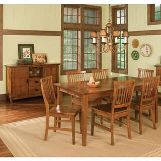 Arts and Crafts 7-piece Rectangular Dining Set by Home Styles|https://ak1.ostkcdn.com/images/products/11519529/P18469120.jpg?impolicy=medium