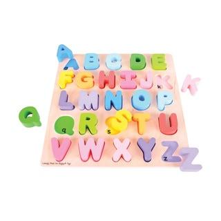 Bigjigs Toys Chunky Alphabet Puzzle, Uppercase