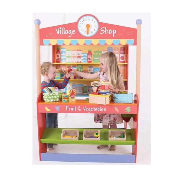 Bigjigs Toys Village Shop