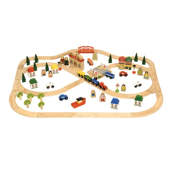 Bigjigs Toys Town and Country Set
