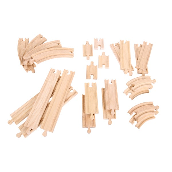 Bigjigs Toys Curves and Straights Expansion Pack