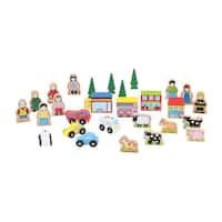 Bigjigs Toys Track Side Accessory Set
