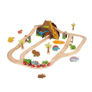Bigjigs Toys Dinosaur Train Set