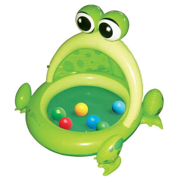 Frog Inflatable Ball Pit 42 inch Tall